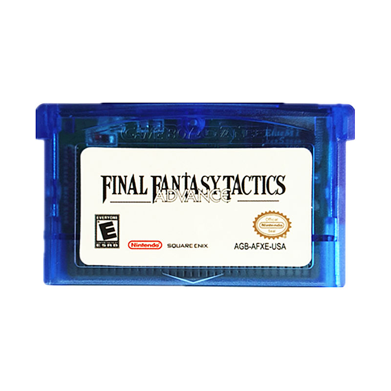 Nintendo GBA Game Final Fantasy Tactics Advance Video Game Cartridge Console Card US English Language