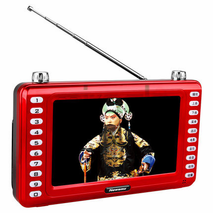 ФОТО Newsmy A75HD TF card opera machine 7 inch hd MP4 video player A75HD hd radio playing theatre can insert U disk humanized design