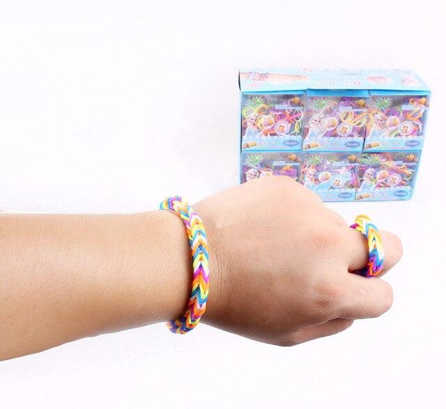 Frozen Diy Color Band Set Fashion Bracelets For S Toy Fun Loom Rubber