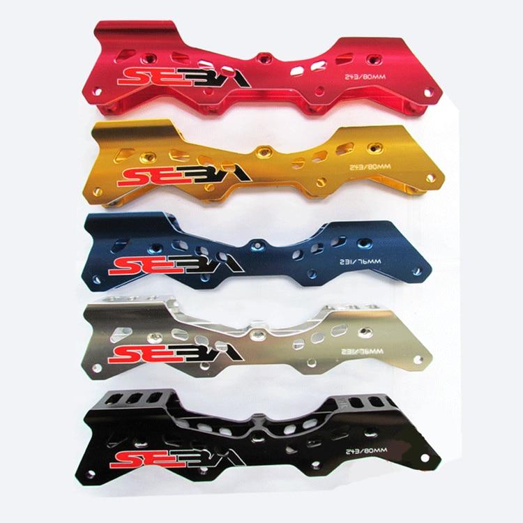 Prix pour Chaussures Cadre pour Powerslide de patinage RB pour Seba HV HL T IGOR KSJ Livraison Slalom Skate Cadres 231mm 243mm Livraison gratuite