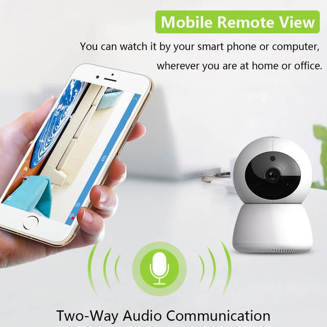 Cámara vigilabebés WiFi 1080P