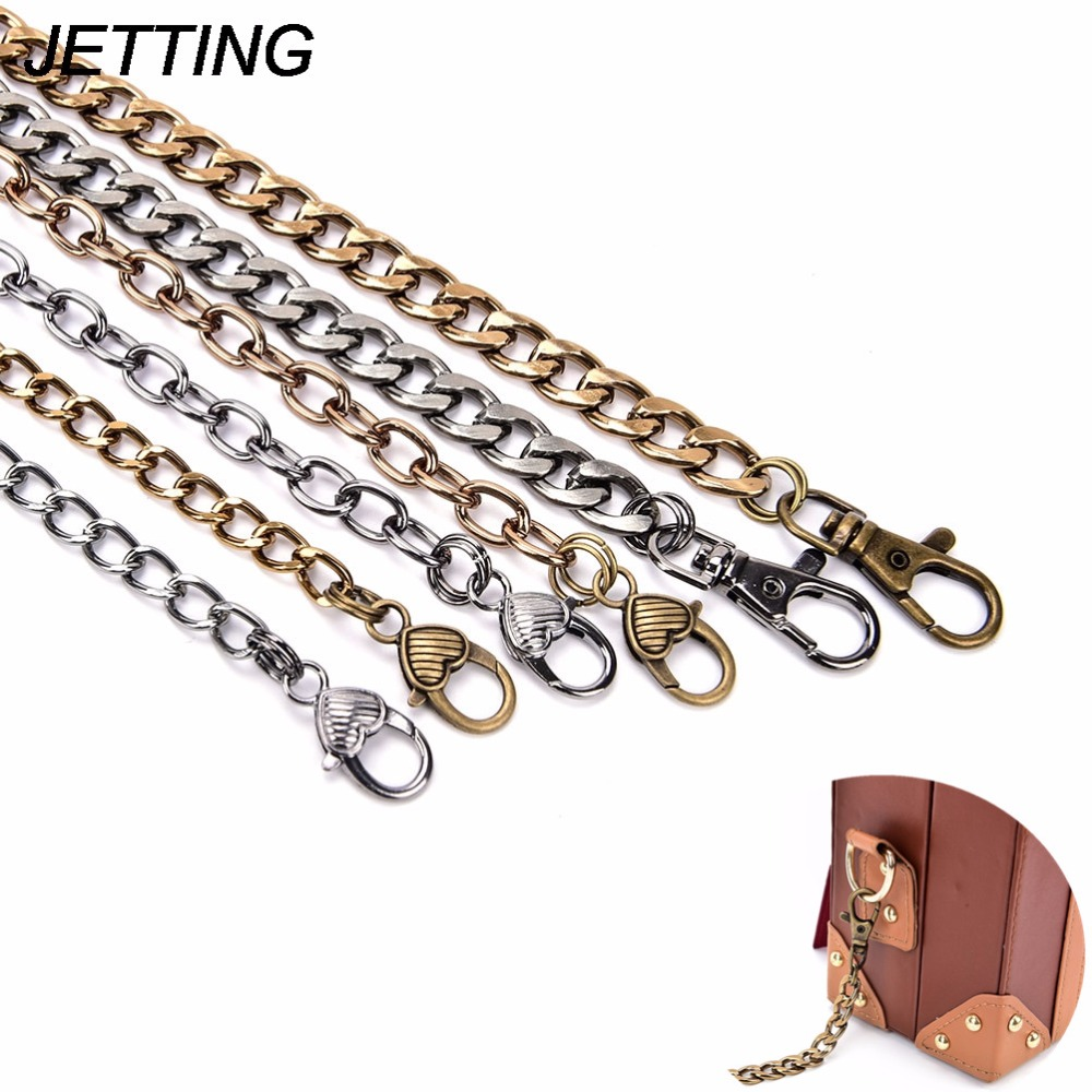 Metal Purse Chain Women's Handbag Hanles And Shoulder Straps Chain Diy Chain Bag Strap Chain High Quality цены онлайн