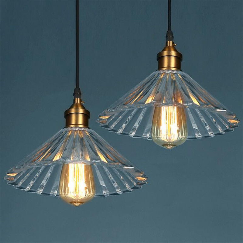 Nordic creative crystal umbrella pendant lamp simple modern restaurant bedroom bedside clothing store window glass chandelier vintage clothing store personalized art chandelier chandelier edison the heavenly maids scatter blossoms tiny cages