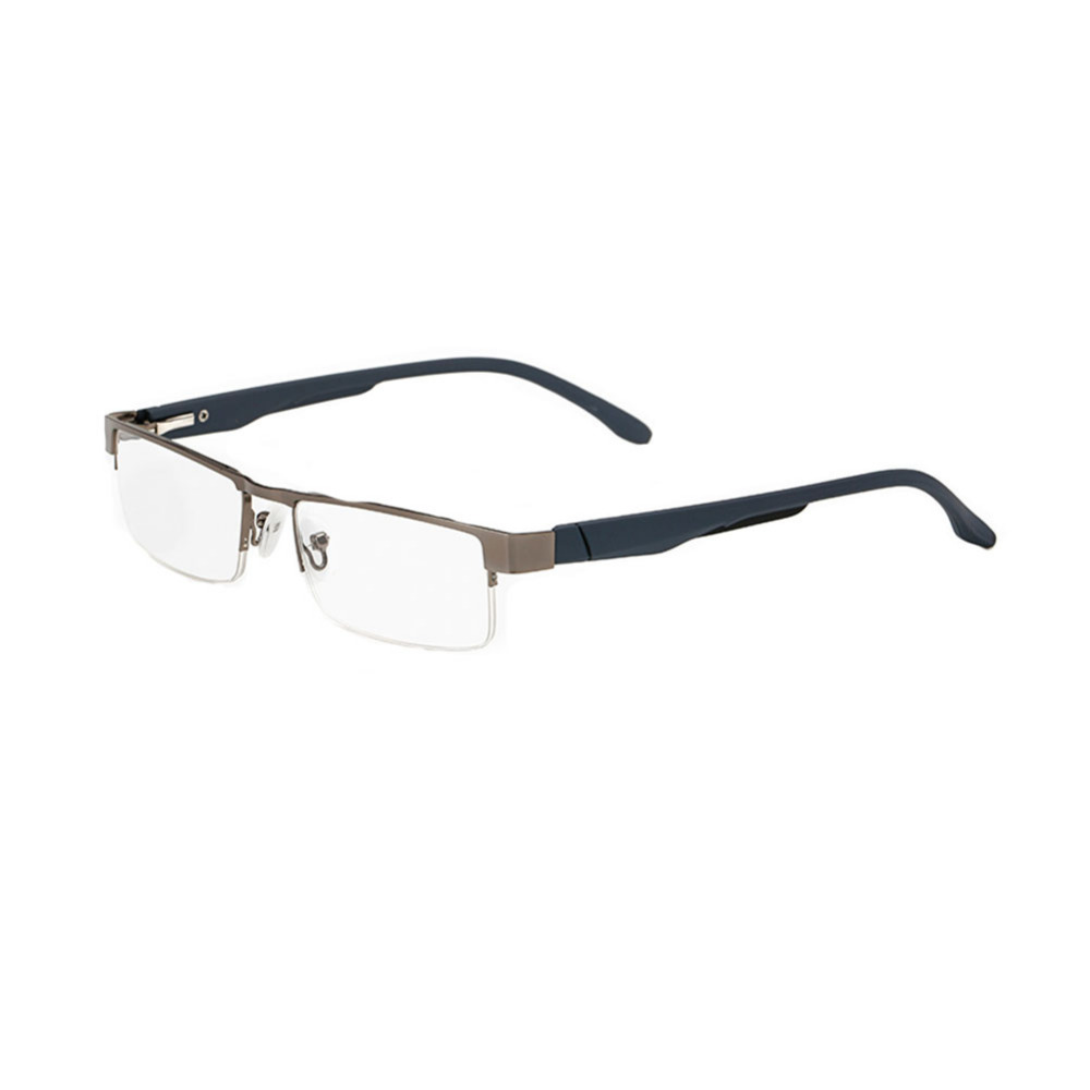 9f3d3c5a0a Reading Glasses Half Moon Half Frame rectangle Reading Glasses for Men and Women  Metal frame Presbyopic glasses -in Reading Glasses from Apparel Accessories  ...