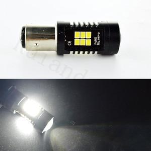 4x1157 BAY15D BAZ15D BA15D 3030 21 White CANBUS OBC No Error Signal P21/4W P21/5W LED Bulbs Auto lamp
