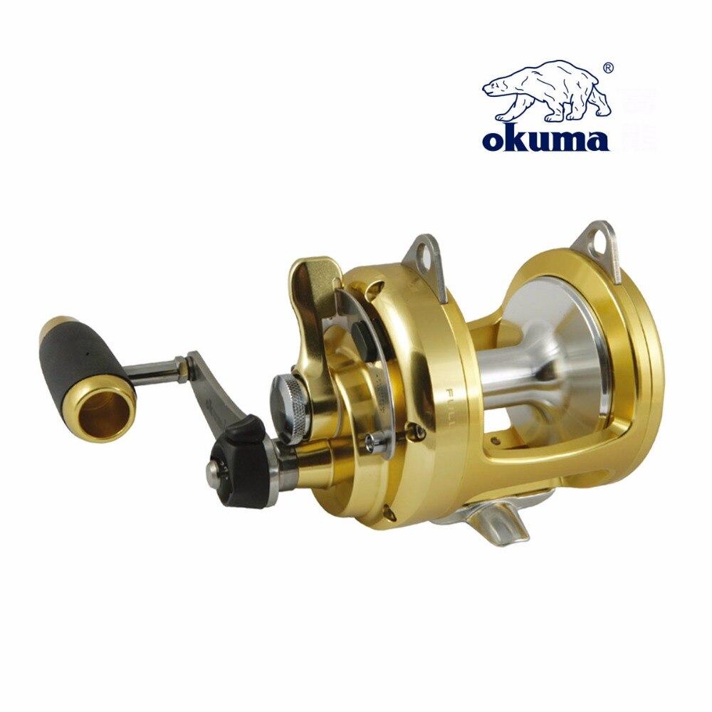 Okuma Tg 50ii Titus Gold Series Drum Wheel Fishing Round