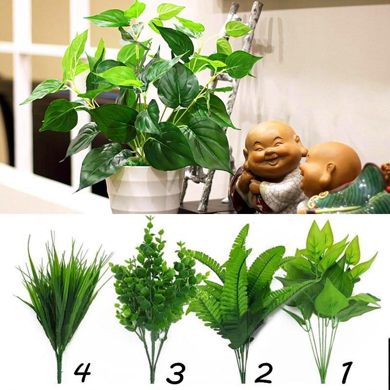 soledi artificial plants indoor fake flower leaf bush home office Artificial Plants for Office Decor
