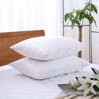Premium 125gsm Zippered Terry Coating TPU Waterproof Pillow Protector Waterproof Pillowcase Pillow Cover Queen 21 31