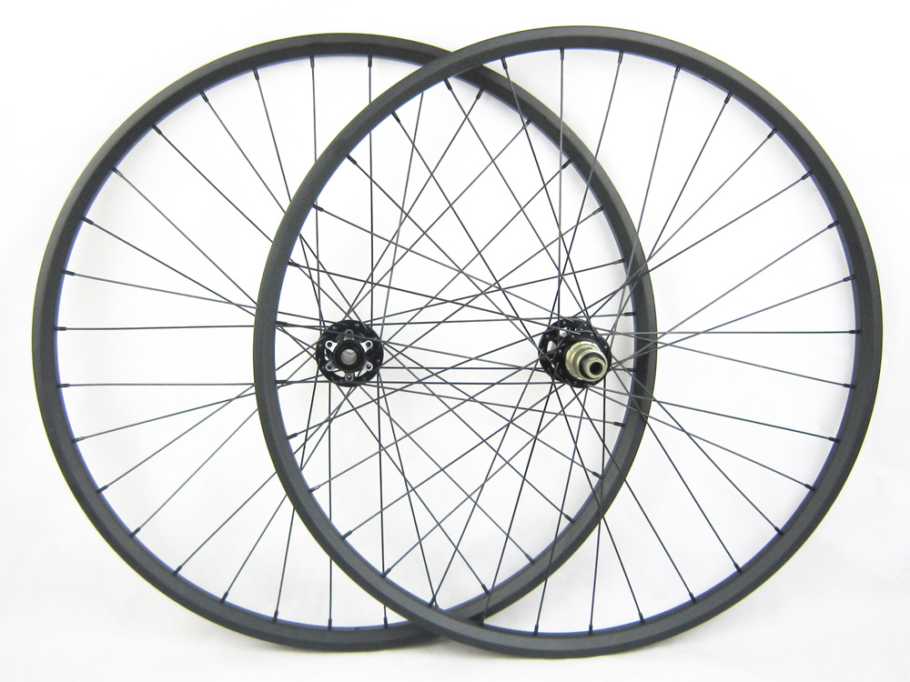factory sale 29er Hookless MTB Carbon Cycle Wheel Set Carbon Wheel MTB Bicycle Wheelset Carbon Material Fast Bike Wheels 29er hookless carbon bicycle wheel tubeless mountain bike wheel set thru axle 15mm 29inch mtb wheel