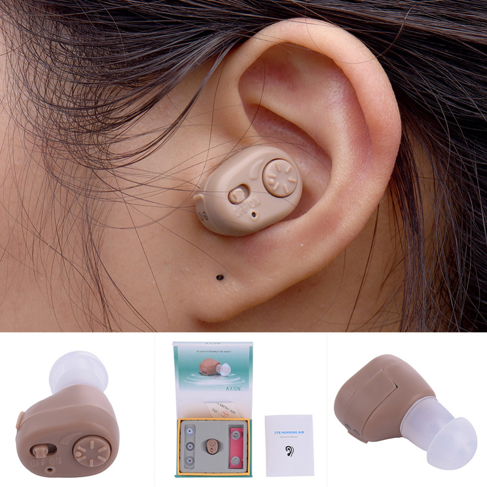 Portable Listening Mini Digital Hearing Aid/Aids Ear Sound Amplifier Volume Adjustable Ear Care Tool For Health mini in ear hearing aids prices in india s 11a spy ear amplifier for the listening difficulty people