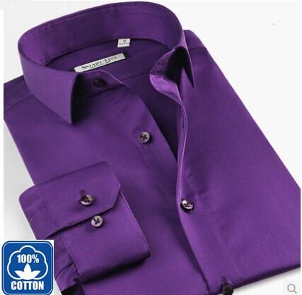 Vestidos Shirt Men New Summer Cotton Men Long Sleeve Shirts camisa Mens Imported Clothing Slim Fit Shirts Size XS-6XL SFL4A48