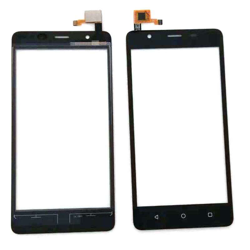 Black Touch Screen For MTC SMART SURF 2 4G Touch Screen Cell Phone Assembly Complete Free 3m Stickers