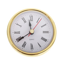 """Классические часы с кварцевым механизмом 2-1/""""(65 мм) круглые часы с головкой римские цифры Mayitr"""