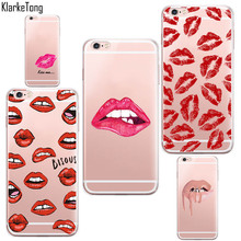 Sexy Lips Kiss Case For iPhone