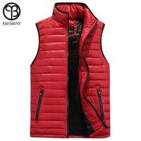 2016 High Quality Men Winter Vest More Color White Duck Down Sleeveless Vest Winter Vest Men
