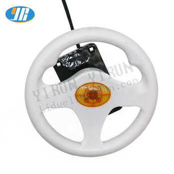 Multi games racing car game board with colorful led steering wheel Wire harness for Children\'s game machine Fire car