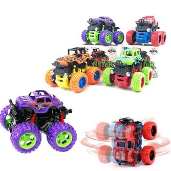 Children Simulation toy car Inertia Four Wheel Drive Off-Road Car Toy Vehicle Model Cars kids toys autos a escala image