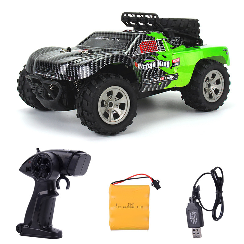 Image 2 - 2.4GHz Wireless Remote Control Desert Truck 1/18 18km/H Drift RC Off Road Car Desert Truck RTR Toy Gift Up to 18km/H Speed-in RC Cars from Toys & Hobbies