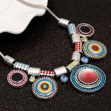 bae50275a08a 2017new choker kolye moda etnik collares vintage renkli boncuk kolye  bildirimi kolye kadınlar takı