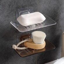 Горячее предложение для ванной комнаты держатель для мыла мыльница для хранения тарелок лоток коробка мыльница высокого качества бытовой контейнер Органайзеры
