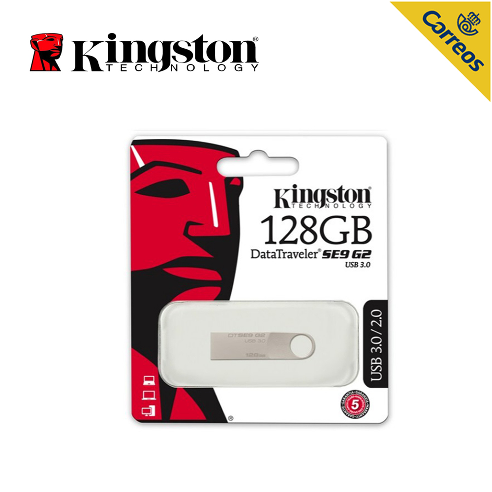 Kingston technologie 128 GB clé USB USB type-a connecteur clé USB DTSE9G2 3.0 clé USB mémoire Flash