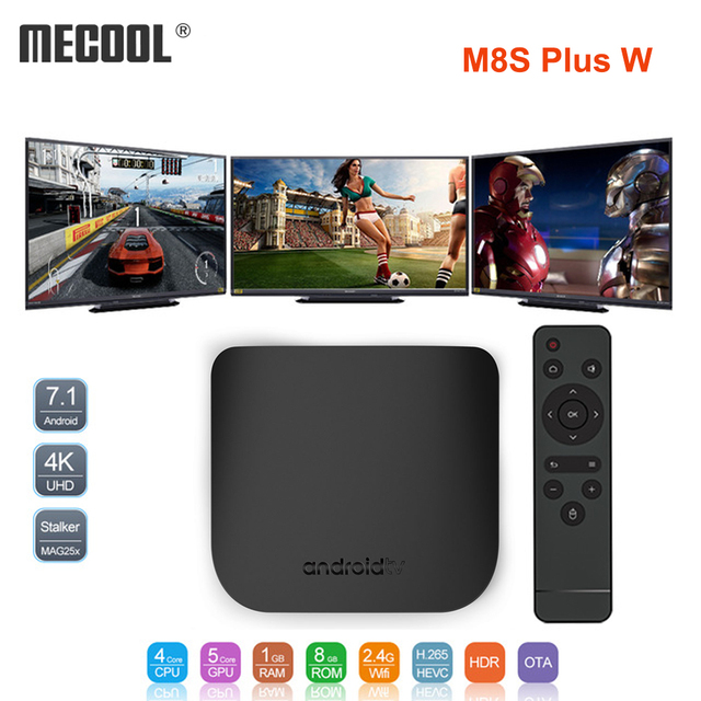 MECOOL Mini Smart TV Box Android 7 1 Octa Core 1GB 8GB 4K 2 4G WIFI 2018  Football Cup TV Set Top Box Support OTA Update Stalker-in Set-top Boxes  from