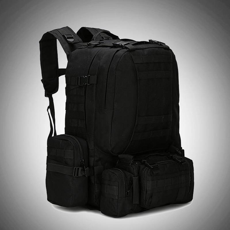 1 pc hommes sac de voyage grande capacité imperméable Camouflage imprimé armée sac à dos pour Camping BHD2