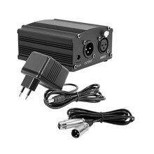 Bm 800 Microphone de Studio alimentation fantôme XLR câble Audio pour bm800 condensateur karaoké Microphone Mikrofon alimentation fantôme câble XLR