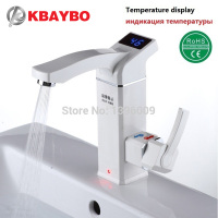 3500W Electric Instant Water Heater Tap Instantaneous Electric Hot Water Faucet Tankless Heating Bathroom Kitchen Faucet