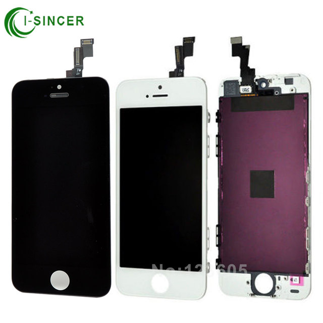 Hot Sale 100% Brand NEW LCD Display For Apple iPhone 5S 5C 5 with Touch Screen Digitizer Assembly For iPhone 6 6Plus White Black