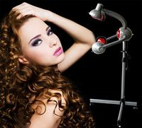 Hairdressing equipment infrared ray five head lamp vertical solar lamp baking head lamp heating heater.