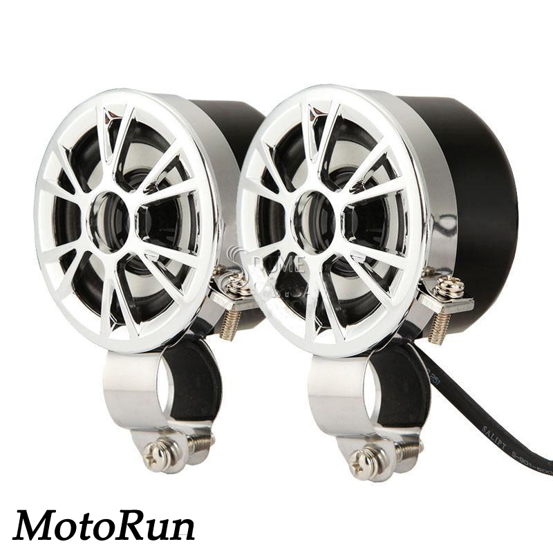 Mini Күшейткіш Мотоцикл Радио MP3 тұтқасы Mount Speakers Fit Harley Cruisers