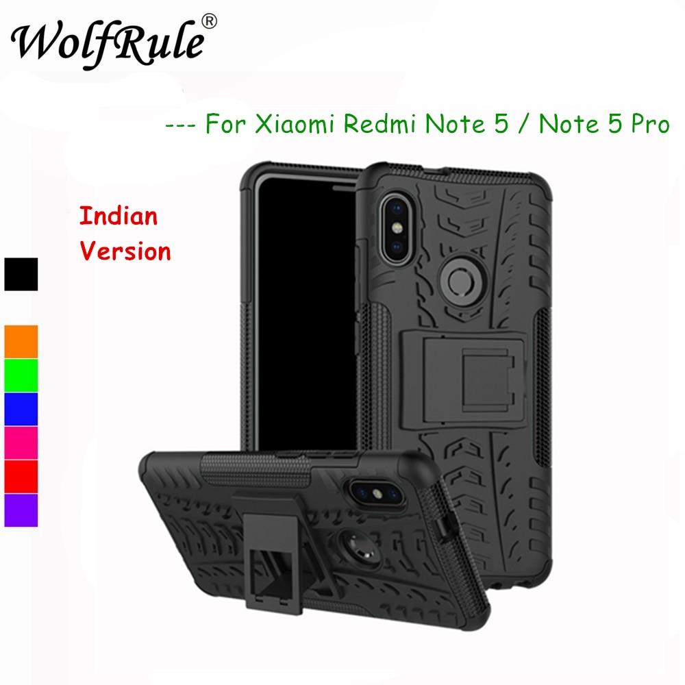 Xiaomi Redmi Note 5 Pro Cases Redmi Note 5 Pro Cover Shockproof Silicone + Plastic Kickstand Case For Xiaomi Redmi Note 5 Pro