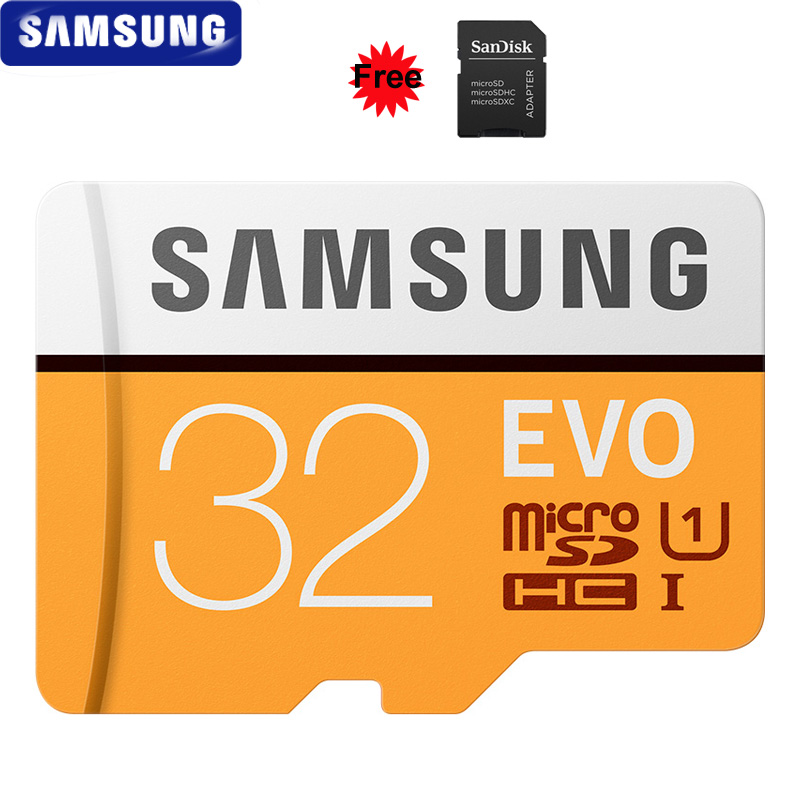Image 2 - SAMSUNG 32GB Micro SD EVO 64GB Memory Card Class 10 128GB Max 100MB/s SDHC SDXC U3 UHS I TF Card 4K HD for Smartphone Tablet PC-in Micro SD Cards from Computer & Office