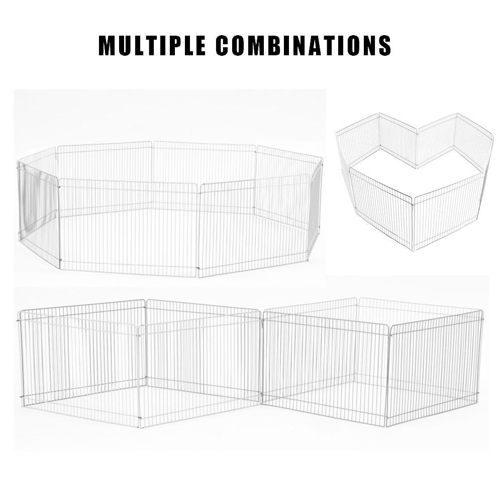 Pet Playpen Indoor/Outdoor Small Pet Fence Cage Free Activity Large Space Pet Playpen For Hamster Hedgehog Guinea Pig