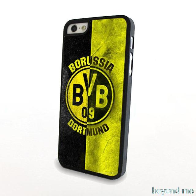 Football Club Borussia Dortmund Cover Case for iPhone 4 4s 5 5s 5c 6 Plus Phone Case