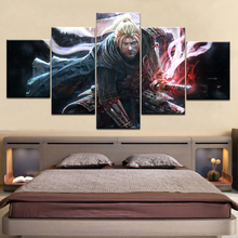 NIOH Game Character PS4 Sword Wallpapers poster Framed Gallery wrap art print modern living room home decor wall 5 panel picture