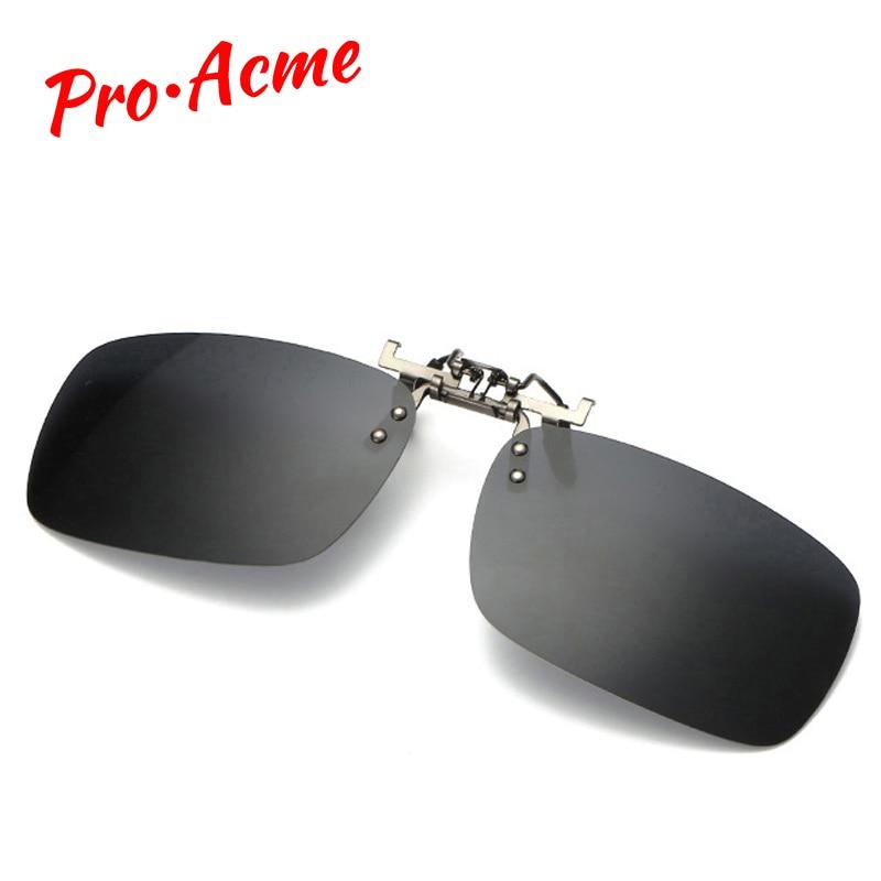 Pro Acme Clip på solglasögon bär över glasögon Polariserade - Kläder tillbehör