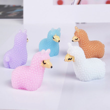 10pcs/pack DIY Slime Supplies Toys Resin Mini Cute Animal Accessories Filler for Fluffy Clear Crystal
