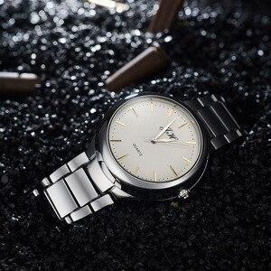 Image 4 - ผู้ชายนาฬิกาFlameless USBไฟแช็กนาฬิกาผู้ชายควอตซ์นาฬิกาข้อมือทังสเตนสแตนเลสไฟแช็กนาฬิกาJH329