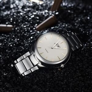 Image 4 - Мужские часы, креативные беспламенные часы с USB зажигалкой, Мужские кварцевые наручные часы, ремешок для часов из вольфрамовой стали, сигарета, Φ JH329