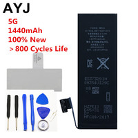 1 Piece 100 New AAA Quality Phone Battery For Iphone 5 5g Durable High Real Capacity
