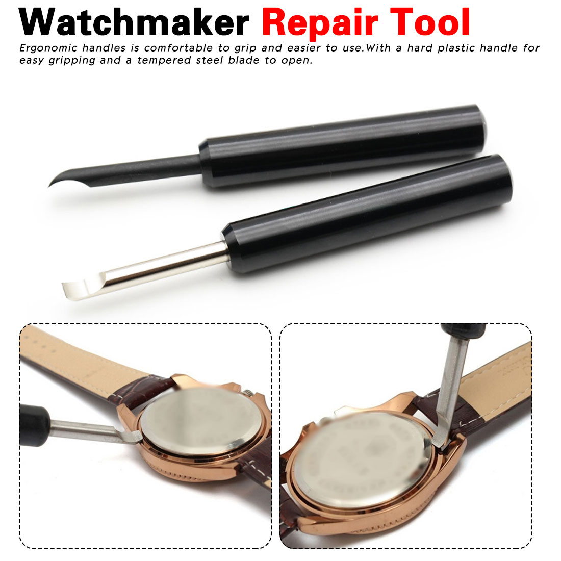 Easier To Open Watch Back CoverStraight Shank Case Opener Screw Wrench Battery Change Watchmaker Repair Tool