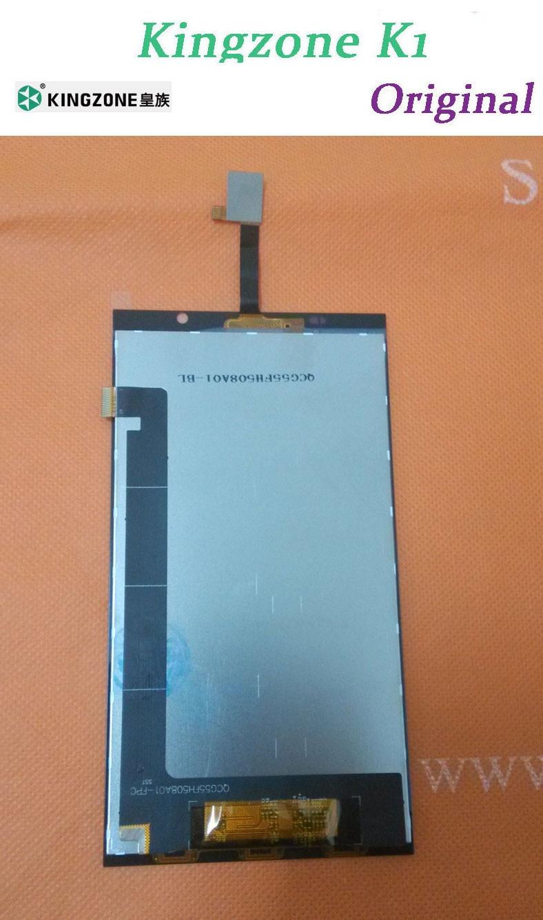 """Цена за Оригинальный FHD ЖК-дисплей Экран дисплея + Сенсорный экран для KingZone K1 Turbo MTK6592 5.5 """"1920x1080 NFC Смартфон + Бесплатная доставка"""