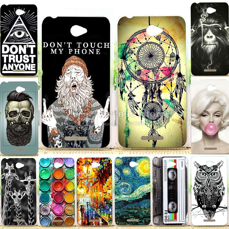 New Fashion Perfect Design Case For Sony Xperia E4 Back Cover For Sony Xperia E4 E2104 E2105 E2114 E2115 E2124 Phone Cases image
