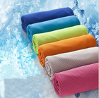 100*30cm Fashion Creative Sport Cooling Towel Sweat Summer Ice Towel Ice Cool Towel High Quality PVA Hypothermia Cold Towels