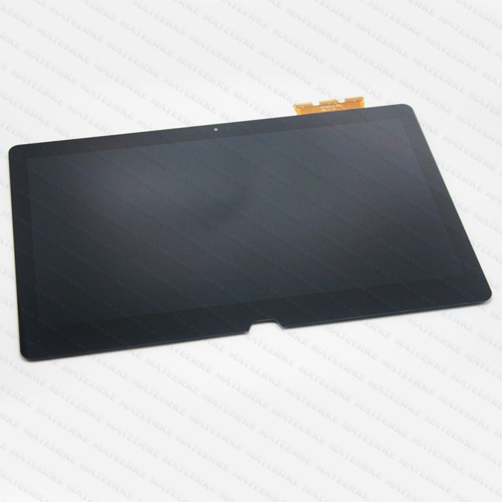 NEW 13.3 For Sony VAIO Flip SVF13 SVF13N SVF13N18SCB LCD Touch Screen Panel Digitizer Assembly Display прозрачный штамп новогодние мишутки 14 18 см scb 0810055