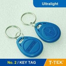 НЕТ. 2 RFID Ключевые Теги, RFID Брелок для контроля доступа, RFID Тег, RFID Токен Сверхлегкий Chip бесплатная доставка