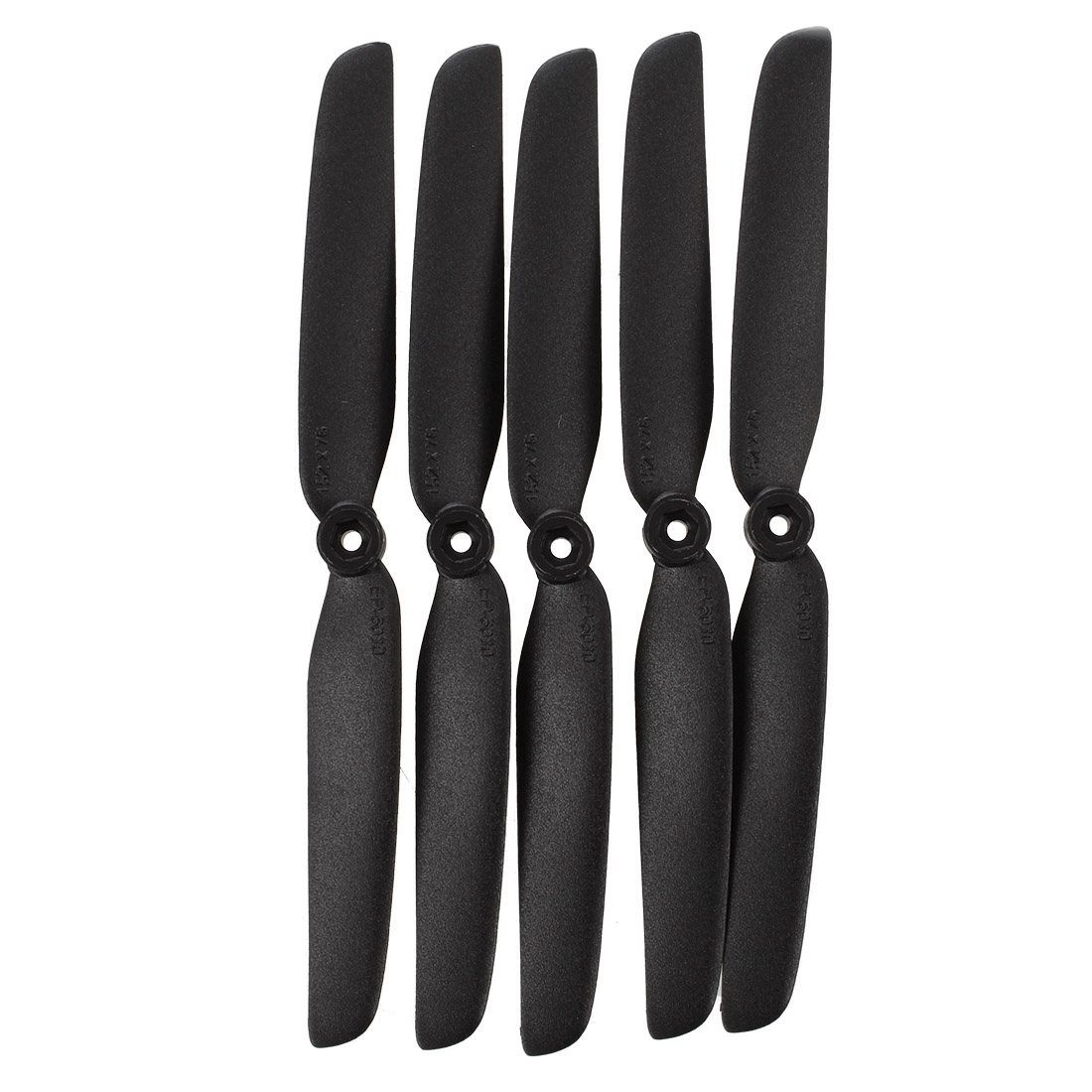 5 X Electric RC Plane Gray Propellers Props 2 Blade 152x76mm 6x3 6030