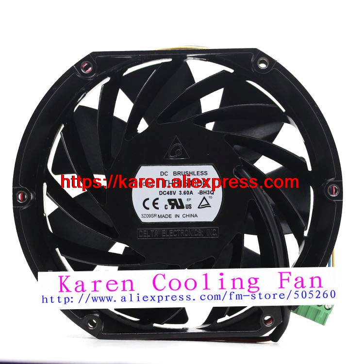DELTA THB1548DG 48V 3.60A 15CM industrial communication Cooling fan delta free shipping thb1548dg 48v 3 60a 15cm ultra violent fan wind capacity
